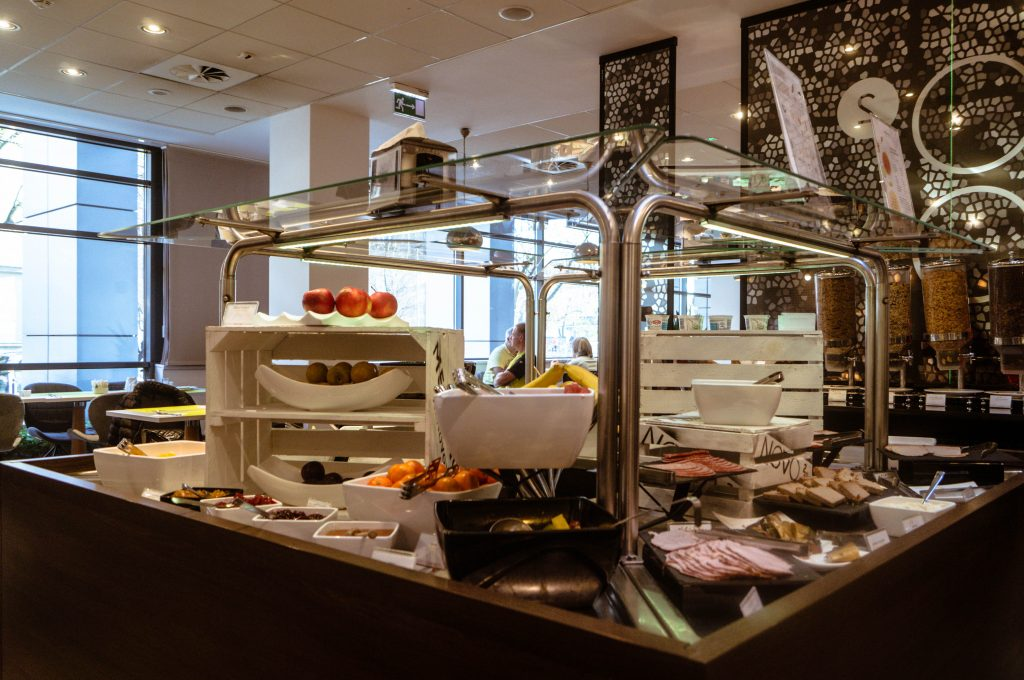 Novotel Krakow Centrum Breakfast
