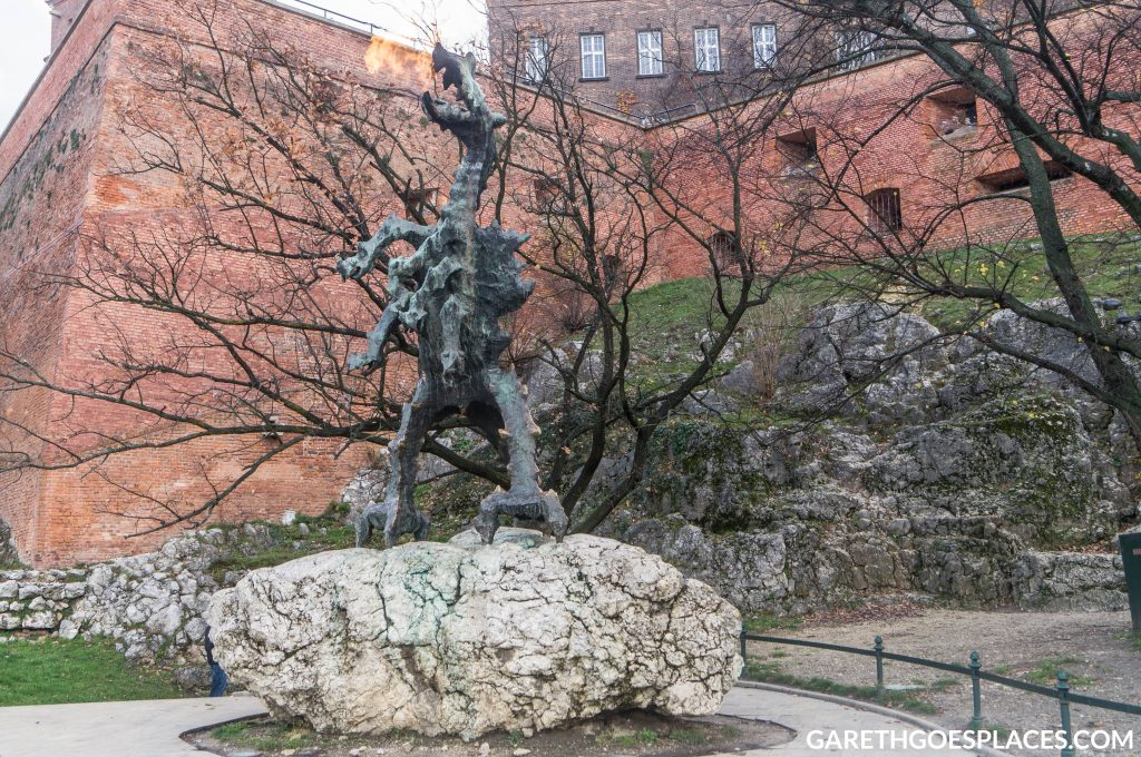 Wawel Dragon in Krakow
