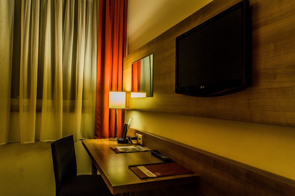 Expo Congress Hotel Superior Room ft. TV and Travel Phone