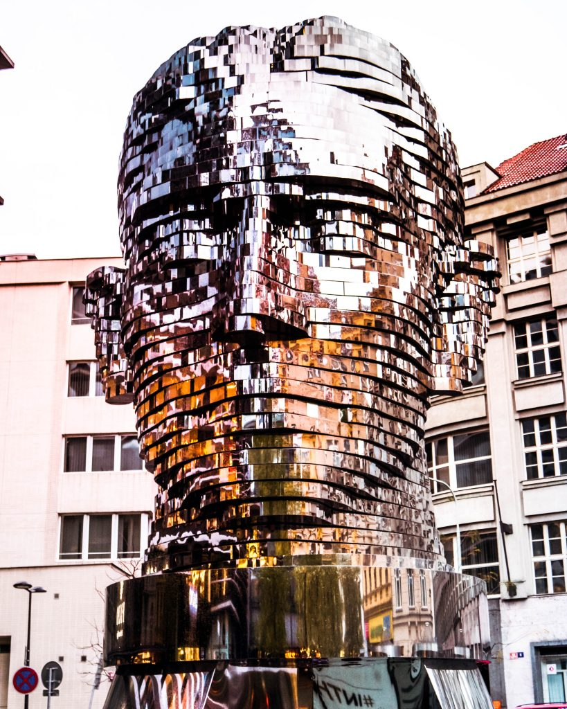 kinetic Head of Franz Kafka