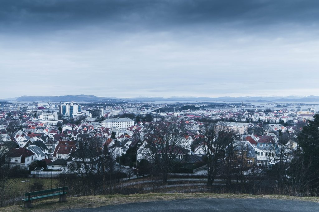 A view of Stavanger city