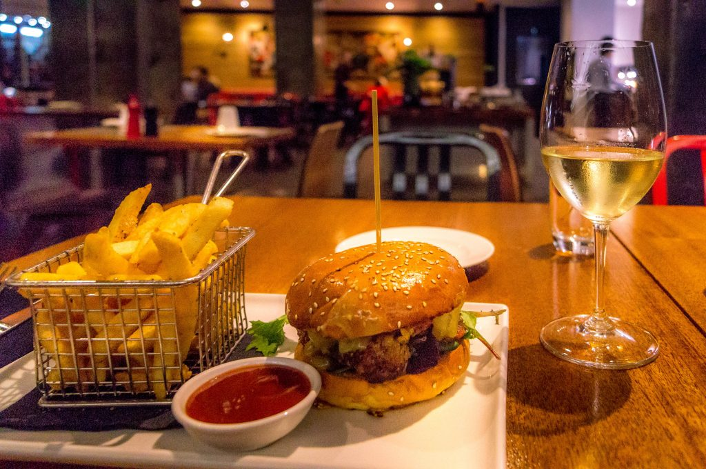 Dining at Parmelia Hilton Perth