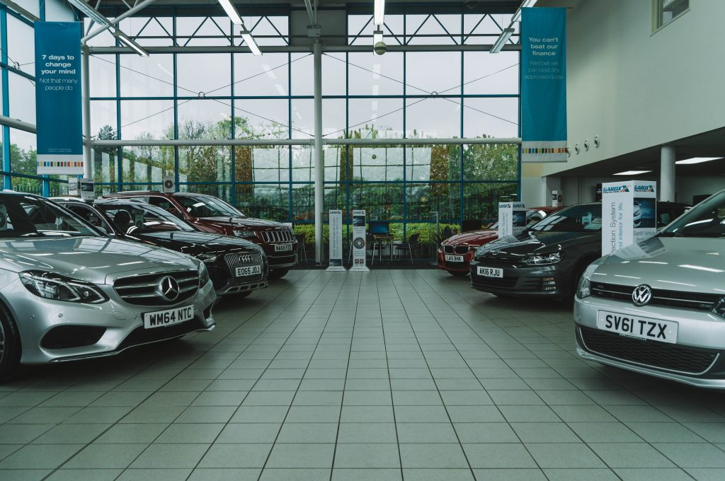 Showroom 2 at CarShop Northampton