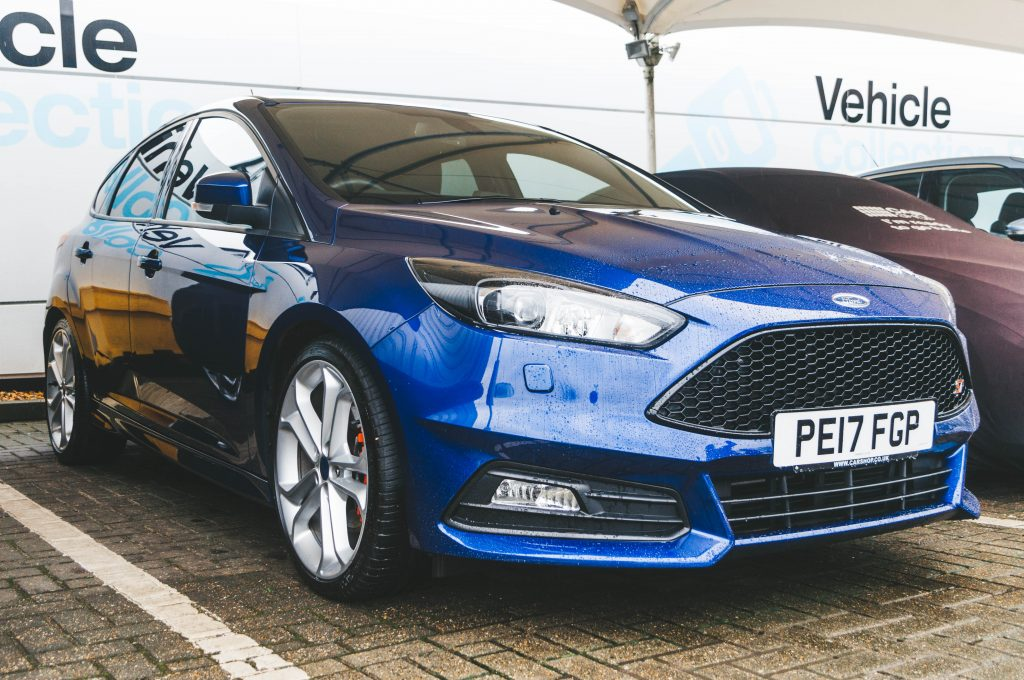 Ford Focus ST3 Car Reveal at CarShop Northampton