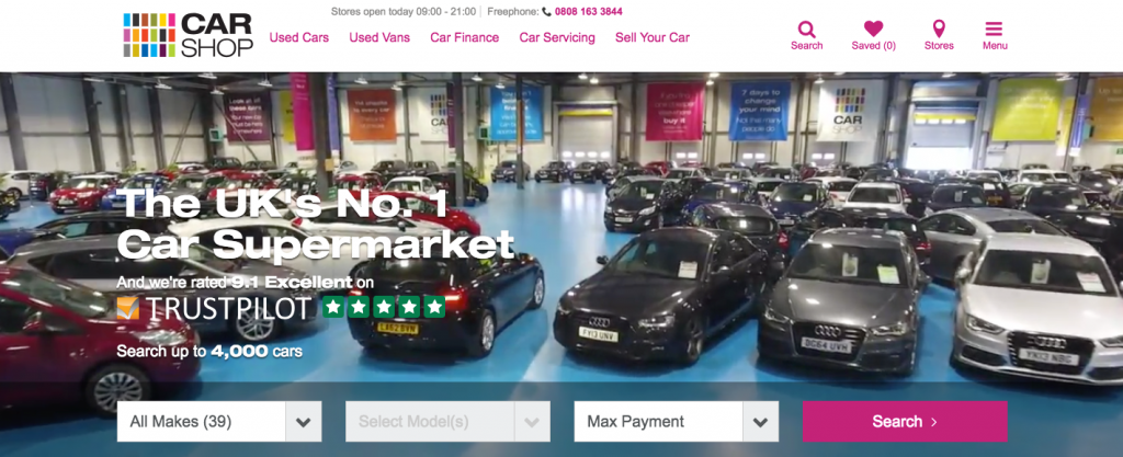 CarShop Website Northampton